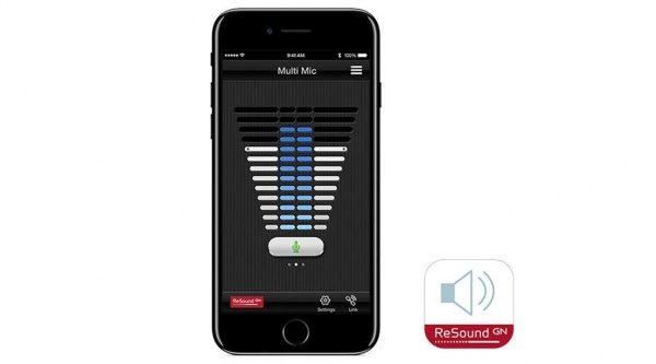 リサウンドコントロールアプリ